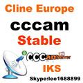 1 pcs venta al por mayor iks cccam cline cuenta del servidor para 1 año europa validez los canales de una experiencia de prueba gratuita para un día