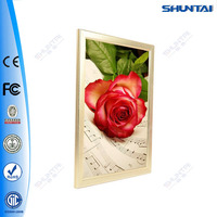 Slim poster aluminum led easy change picture frames