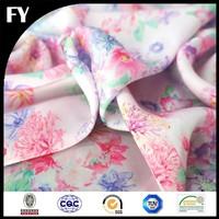 Factory Direct hi-end digital print stretch silk fabric