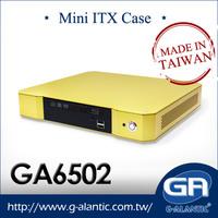 GA6502 - High Quality Mini ITX Desktop Computer Case for HTPC