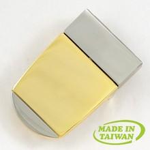 Gold plating best polishing custom logo wholesale belt buckles
