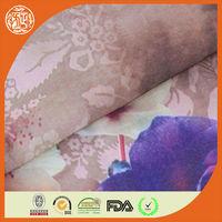 2015 top fashion 100% polyester printed chiffon
