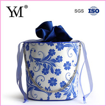 New arrival! China style flower pattern customized gift bag