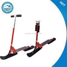 slider snow slider sledge scooter/adjustable ski sled