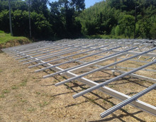 Solar Mounting Systems with Aluminum Structure , Solar Panel Mounting