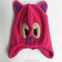 Factory wholesale winter fleece animal hat animal cap