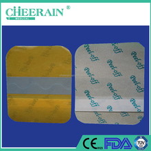 iodine transparent pu film adhesive wound dressing /plaster with CE,FDA,ISO13485 certificate