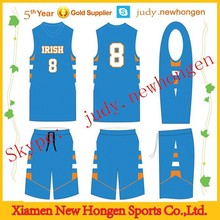Fashion Style Basketball Tops, Top Selling Sublimation Basketball Tops