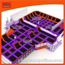 Mich Trampoline Park--design,manufacture,field assembly.top quality,top service.NO FRANCHISE CHARGE AT ALL