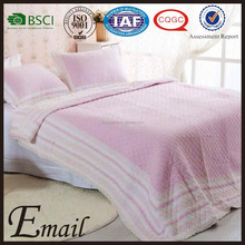 Korean fashion design 100-percent cotton air conditioning quilt/quilt cover/quilt set with lace pattern
