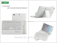 8' V3.0 wireless bluetooth tablet leather cover for ipad keyboard case