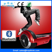 350W two wheel smart balance electric scooter for adults with bluetooth and sound