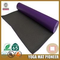 8mm thick 12 inch yoga mat rubber yoga mat manufacturer custom logo printing pvc yoga mat