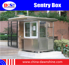 Tiny Houses Sentry Box/Police Station, Fast Installation Steel Structure Homes, Prefab House