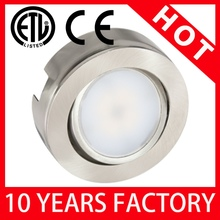 High Lumen 120V UL Led Puck Light Wireless With CE Listed