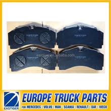 WVA29246 Truck brake pad for MERCEDES BENZ