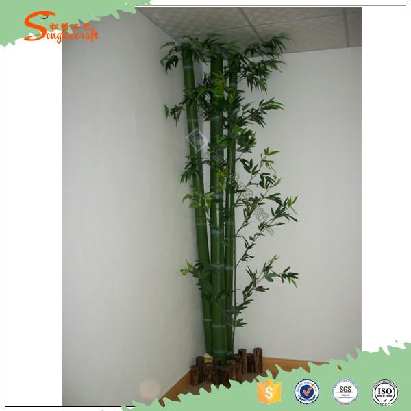 Usine pas cher prix artificielle bambou arbre personnalis for Faux bambou pas cher