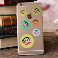 Wholesale Mobile Accessories Local Colorful Phone Decals for iPhone Mobile Sticker Skin iP6-color (20)