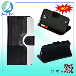 Hot Selling Wallet Cover leather mobile phone case for samsung galaxy s4