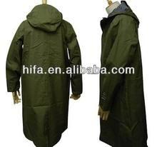 Military raincoat army Poncho heavy duty raincoat