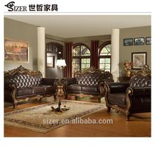 China Wholesale Custom imported genuine leather sofa