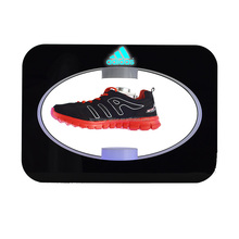LED lighting Acrylic advertising magnetic floating shoe display