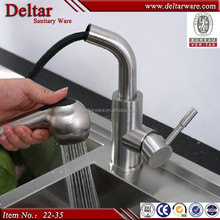 Pull out kitchen faucet for family, stainless steel faucet, spary faucet