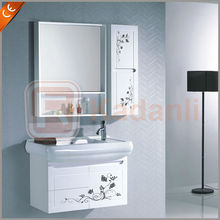 White modern bathroom vanities