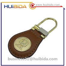 Custom metal honda logo reflection keychain