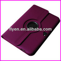 360 Degree Rotated For Google Nexus 10 Snake PU Leather Case W/ 360 Rotating Stand Magnetic Smart Cover Wholesale Good Price
