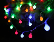fairy lights ball light fitting