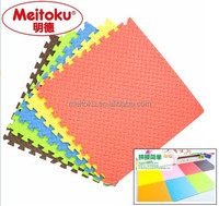 Nantong meitoku(mingde) The colors GYM safety products eva floor mat/exercise puzzle mat