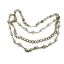 Pearled chain necklace