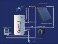 Open Loop/Closed Loop Solar Power Energy Water Heater System for home