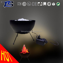 fake led flicker silk fire flame light for party decoration