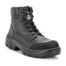 oil and water resistant safety work boot/pu safety shoe/safety shoes shield