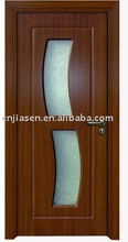 flush glass insert composite door