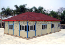 Guangzhou DH cheap price prefab house design for sale