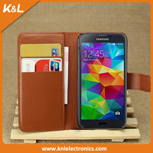 New Cute Leather Flip Stand Wallet Back Cover Case For Samsung Galaxy S5 Mini