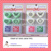 Lower price heart shape self-inking stamp for children toys