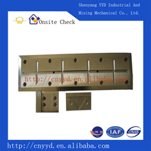 slide plate for steel rolling equipments