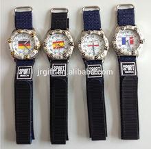 de alta calidad en caliente de venta de diversos tipos de dama de la moda de silicona reloj de pulsera jr0109