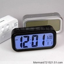 LCD clock table clock