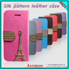 Flashing Silk Cell Phone Case Cover Holster