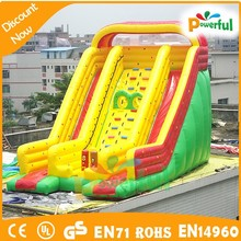 good design durable inflatable wholesale water slides/big water slides for sale