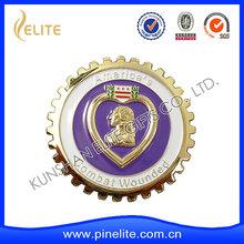 Collectable Automotive Cloisonne Bronze / Copper Metal Car Badge Emblem