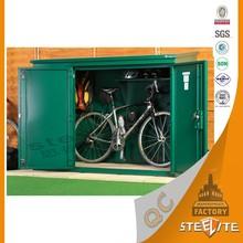 luoyang Factory Price Used Outdoor Home Furniture Steel Bicycle Locker/Bike Storage Cabinet
