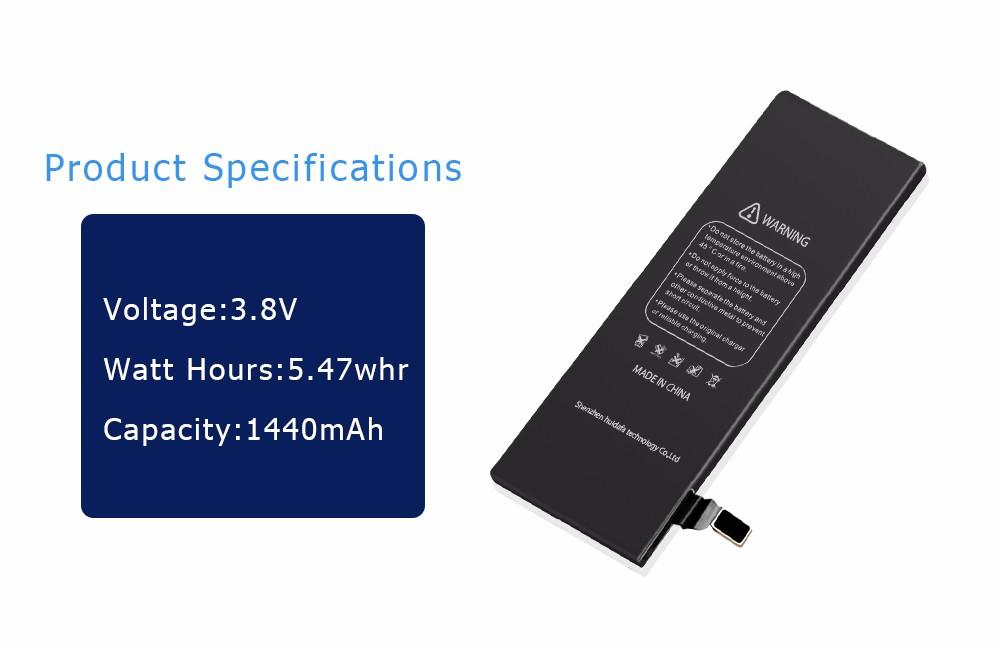 Baterias OEM Fabricante DEJI Bateria Plena Capacidade para o iphone 5 5S