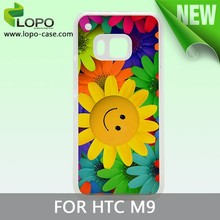 DIY funny sublimation PC mobile phone case for HTC M9