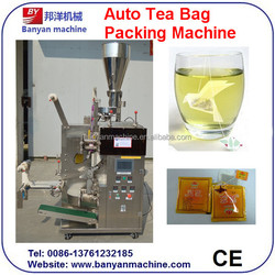 YB-100T Hot Selling Vertical Automatic Tea Bag Packing Machine with inner bag and outer bag